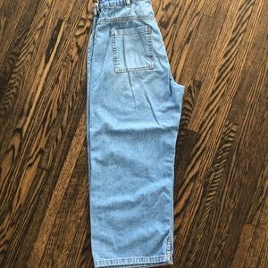 2/30: ZARA high rise wide leg jeans